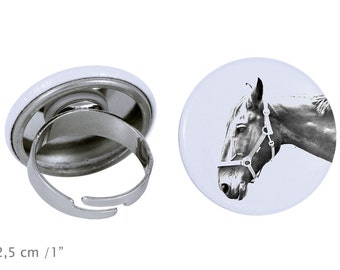 Ring with a horse - Hanoverian