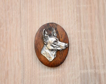 Pharaoh Hound, dog show ring clip/number holder, limited edition, ArtDog