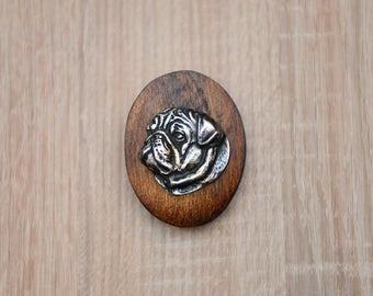 Pug, dog clipring, dog show ring clip/number holder, limited edition, ArtDog