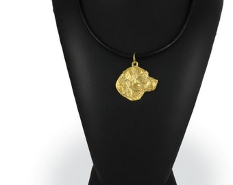 Labrador Retriever, millesimal fineness 999, dog necklace, limited edition, ArtDog