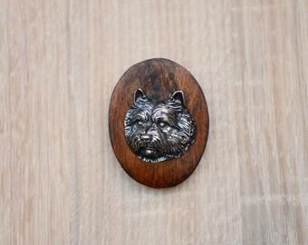 Norwich Terrier, dog clipring, dog show ring clip/number holder, limited edition, ArtDog