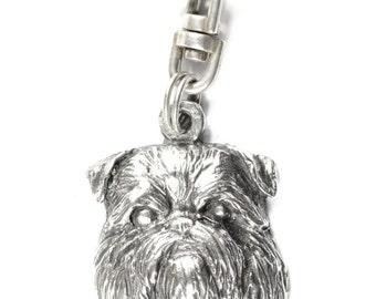 NEW, Griffon, dog keyring, key holder, limited edition, ArtDog . Dog keyring for dog lovers