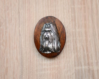 Shih Tzu, dog show ring clip/number holder, limited edition, ArtDog