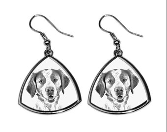 Brittany (breed)- NEW collection of earrings with images of purebred dogs, unique gift