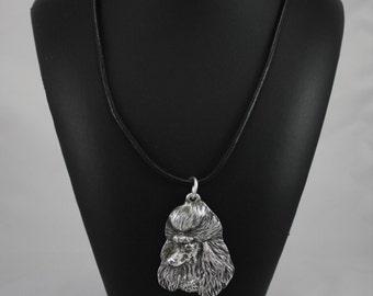 Poodle, dog necklace, limited edition, ArtDog