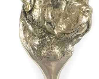 Rottweiler, dog door's knocker, limited edition, ArtDog