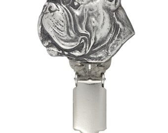 Boxer, dog clipring, dog show ring clip/number holder, limited edition, ArtDog