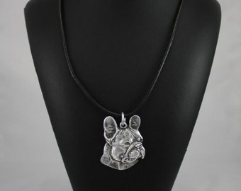 French Bulldog (right-oriented) , dog necklace, limited edition, ArtDog