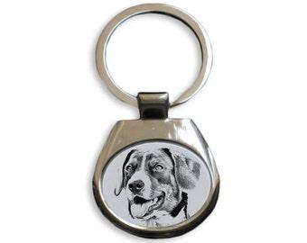 Appenzeller Sennenhund - NEW collection of keyrings with images of purebred dogs, unique gift, sublimation . Dog keyring for dog lovers