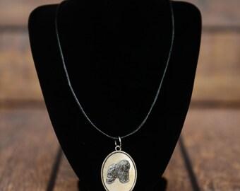 Polish Lowland Sheepdog, dog necklace, medallion, limited edition, extraordinary gift, ArtDog