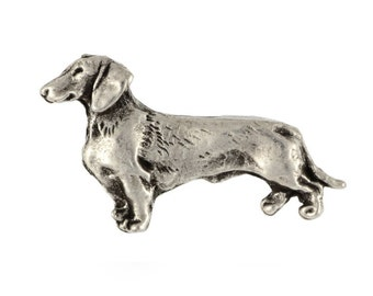 Teckel, Dachshund smoothhaired (body), dog pin, limited edition, ArtDog