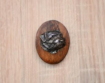 Norfolk Terrier, dog clipring, dog show ring clip/number holder, limited edition, ArtDog