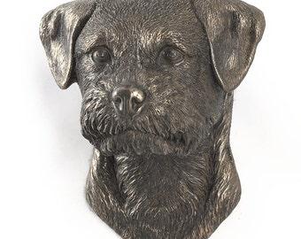 Border Terrier, dog hanging statue, limited edition, ArtDog