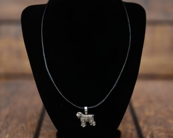 Bouvier des Flandres, dog necklace, limited edition, extraordinary gift, ArtDog
