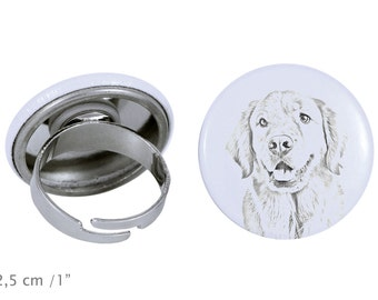 Ring with a dog - Golden Retriever