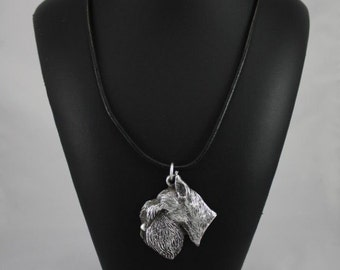 Schnauzer, dog necklace, limited edition, ArtDog