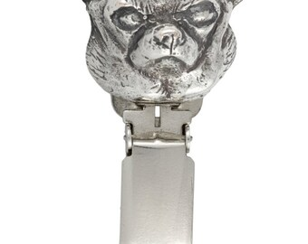 Chihuahua (smooth), dog clipring, dog show ring clip/number holder, limited edition, ArtDog