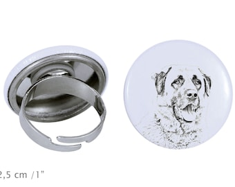 Ring with a dog- Anatolian Shepherd