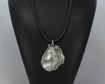 Rough Collie, dog necklace, limited edition, ArtDog