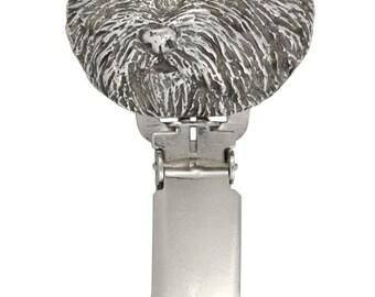 West Highland White Terrier, dog clipring, dog show ring clip/number holder, limited edition, ArtDog