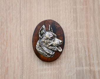 Beauceron, dog show ring clip/number holder, limited edition, ArtDog