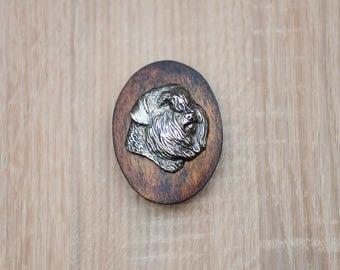 Flandres Cattle Dog, dog clipring, dog show ring clip/number holder, limited edition, ArtDog