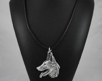 Malinois, dog necklace, limited edition, ArtDog