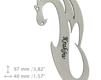 NEW, Dragon 15 Cracow, bottle opener, stainless steel, different shapes, limited edition