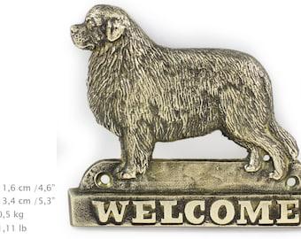 Newfoundland, dog welcome, hanging decoration, limited edition, ArtDog