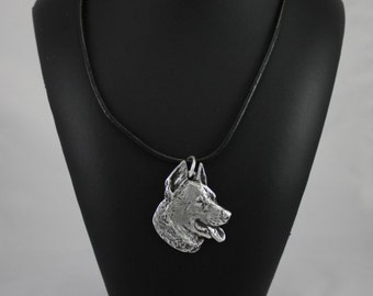 German Shepherd, dog necklace, limited edition, ArtDog