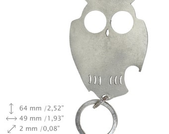 NEW, Owl, bottle opener, stainless steel, different shapes, limited edition