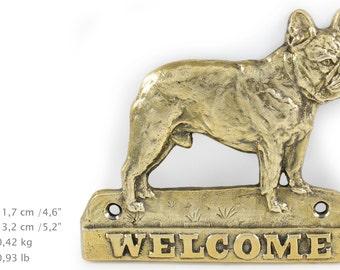 French Bulldog, dog welcome, hanging decoration, limited edition, ArtDog