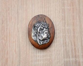 Shar Pei, dog clipring, dog show ring clip/number holder, limited edition, ArtDog