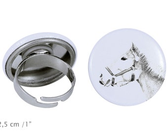 Ring with a horse - Haflinger