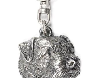 NEW, Norfolk Terrier, dog keyring, key holder, limited edition, ArtDog . Dog keyring for dog lovers