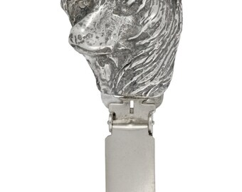 Chinese Crested Dog, dog clipring, dog show ring clip/number holder, limited edition, ArtDog