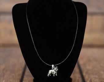 French Bulldog , dog necklace, limited edition, extraordinary gift, ArtDog