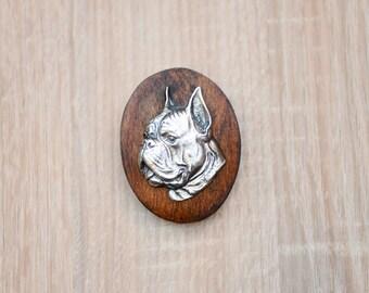 Boxer, dog show ring clip/number holder, limited edition, ArtDog