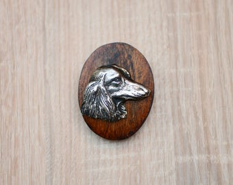 Dachshund, dog show ring clip/number holder, limited edition, ArtDog