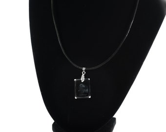 Leoneberger, Dog Crystal Necklace, Pendant, High Quality, Exceptional Gift, Collection!