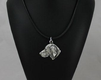 Weimaraner, dog necklace, limited edition, ArtDog