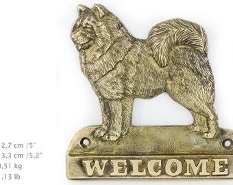 Samoyed, dog welcome, hanging decoration, limited edition, ArtDog