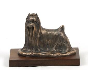 Shih-Tzu, dog wooden base statue, limited edition, ArtDog