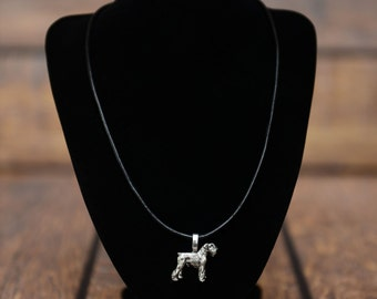 Schnauzer, dog necklace, limited edition, extraordinary gift, ArtDog