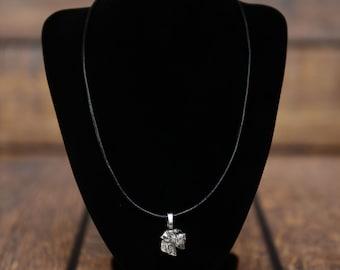 Schnauzer , dog necklace, limited edition, extraordinary gift, ArtDog