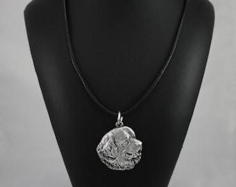 Newfoundland, Newf, Newfie, The Gentle Giant, dog necklace, limited edition, ArtDog