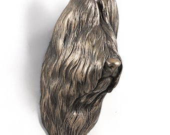Briard, dog hanging statue, limited edition, ArtDog
