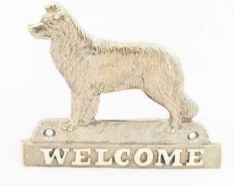 Border Collie, dog welcome, hanging decoration, limited edition, ArtDog