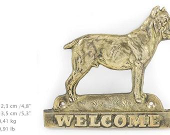 Cane Corso, dog welcome, hanging decoration, limited edition, ArtDog