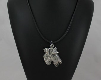 Airdale Terrier, dog necklace, limited edition, ArtDog